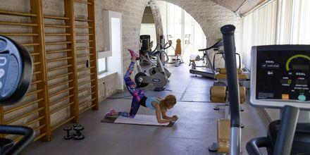 Fitness faciliteter på hotel Meteor på Makarska Riviera, Kroatien.