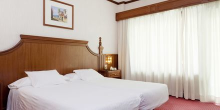 Dobbeltværelser på Hotel Valle Mar på Tenerife, De Kanariske Øer, Spanien.