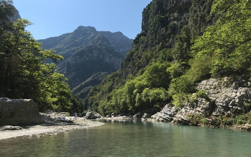 Vandring i Pindus-bjergene