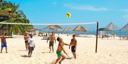 Beach Volley i Varadero på Cuba.