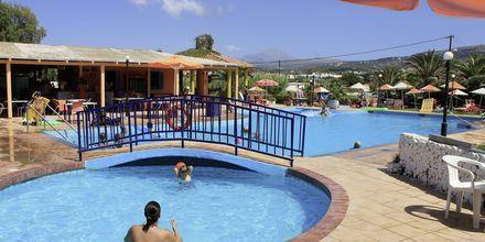 Børnepool på Hotel Varvara's Diamond på Kreta, Grækenland.