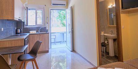 1-værelses lejlighed superior på Hotel Varvara's Diamond på Kreta, Grækenland.