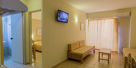 2-værelses lejlighed på Hotel Varvara's Diamond på Kreta, Grækenland.