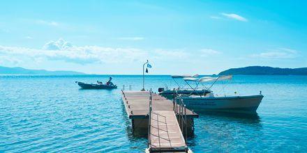 Stranden ved Vasilias på Skiathos, Grækenland.