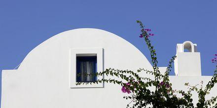 Hotel Veggera på Santorini.