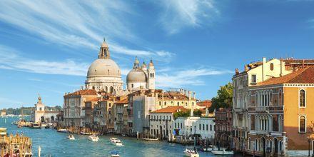 Canal Grande i Venedig, Italien.