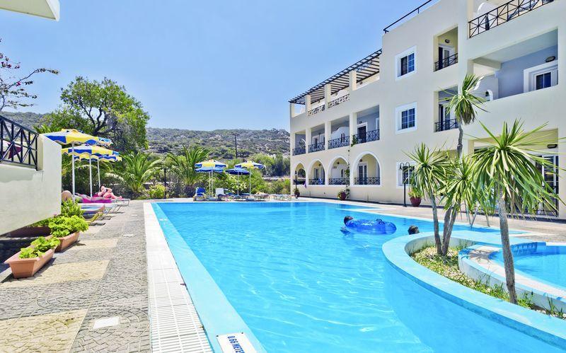 Hotel Vergina, Karpathos By, Grækenland