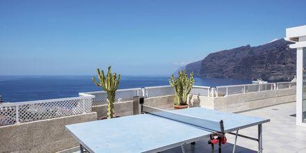 Bordtennis på Hotel Vigilia Park i Los Gigantes på Tenerife, De Kanariske Øer.