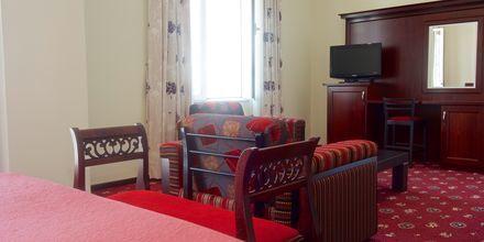Dobbeltværelse på Hotel Vila Duraku i Saranda, Albanien.