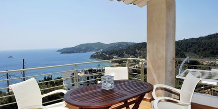 2-værelses lejlighed på Villa Anastasia i Achladies på Skiathos.