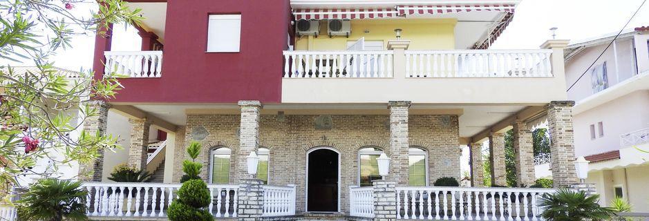 Hotel Villa Andreas i Ammoudia, Grækenland.