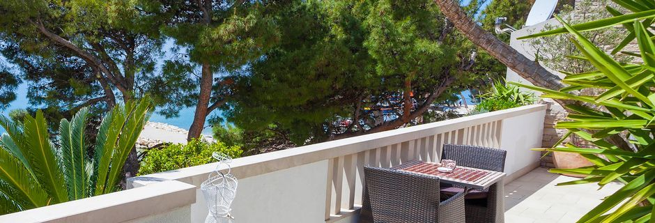 Villa Ankora i Makarska Riviera.