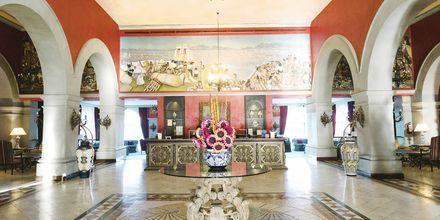 Lobby på Villa Cortés i Playa de las Americas, Tenerife