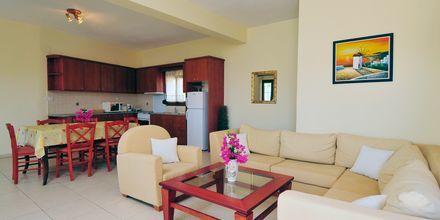 3-værelses lejlighed i etage på Hotel Villa Ostria på Leros, Grækenland.