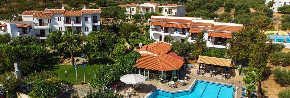 Lejlighedshotel Villa Vicky i udkanten af Hersonissos, Kreta.