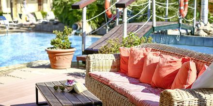 Poolområde på Hotel Villas Duc på Rhodos, Grækenland