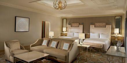 Dobbeltværelser/Deluxe-værelser på Waldorf Astoria Ras Al Khaimah