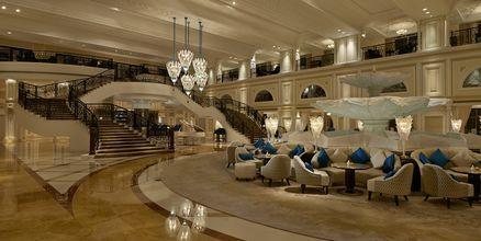 Peacock lounge på Waldorf Astoria Ras Al Khaimah