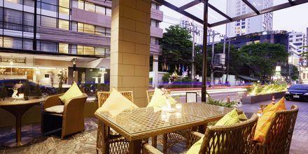 Bar på hotel Well i Bangkok, Thailand.
