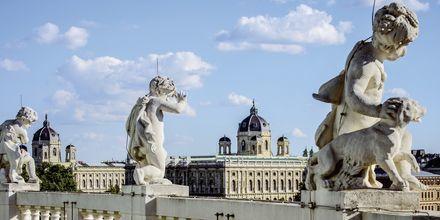 Smuk kunst i Wien, Østrig.