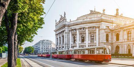 Sporvogn i Wien, Østrig.