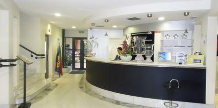Reception på Hotel Windsor i Funchal, Madeira