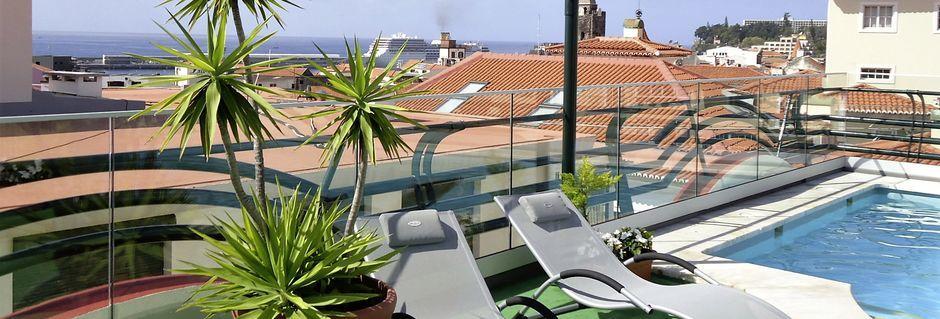 Poolen på Hotel Windsor i Funchal, Madeira