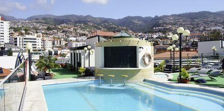 Pool på Hotel Windsor i Funchal, Madeira