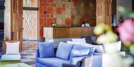 Receptionen på hotel X10 Khao Lak
