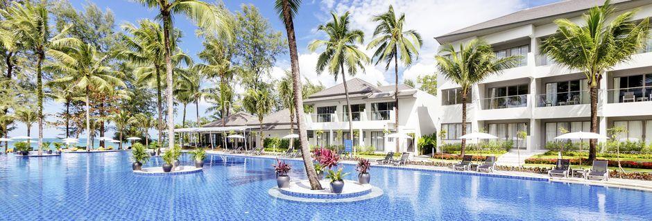 Pool på hotel X10 Khao Lak