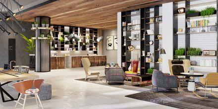 Lobby på Hotel Zabeel House by Jumeirah The Greens i Dubai.
