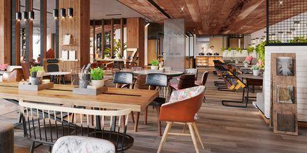 Restaurant Social Company på Hotel Zabeel House by Jumeirah The Greens i Dubai.