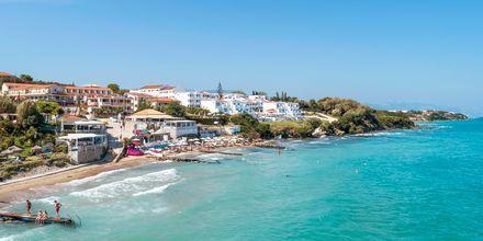 Stranden i Tragaki på Zakynthos, Grækenland.