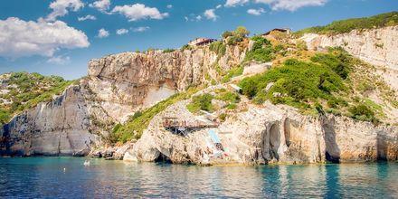 Zakynthos smukke kyst, Grækenland.