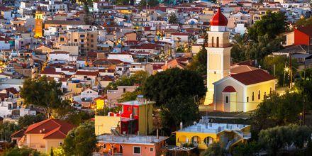 Zakynthos by set fra byen Bochali, Grækenland.