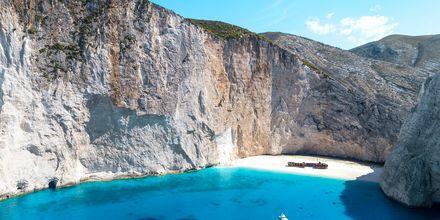 Smugglers wreck på Zakynthos, Grækenland.