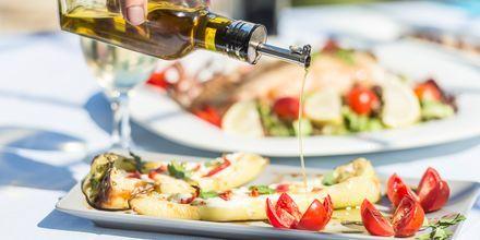 Græsk mad.