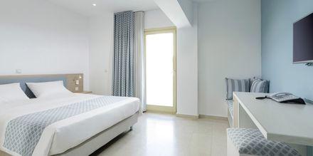 Dobbeltværelser på Hotel Zephyros på Kalymnos, Grækenland