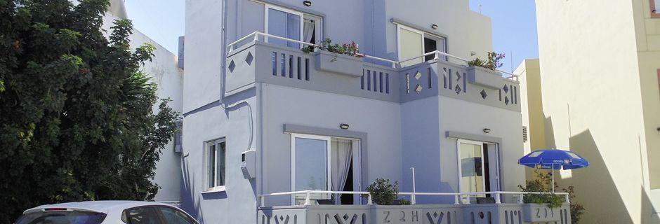 Hotel Zoi i Platanias på Kreta, Grækenland.